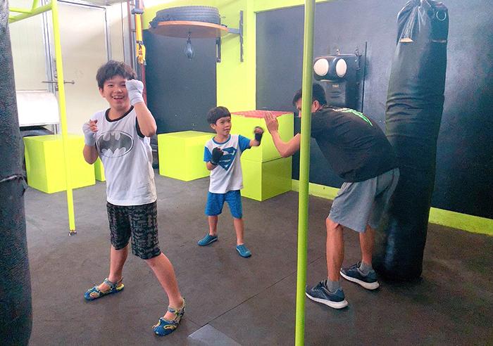 宿霧親子遊學, 下課生活體驗, 拳擊運動