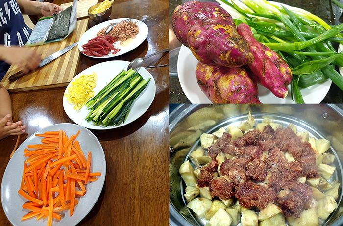 WYL下課後活動, 烹飪分享