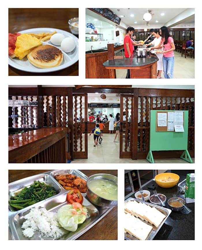 WYL學校環境, 餐點, 飲食, 學習環境