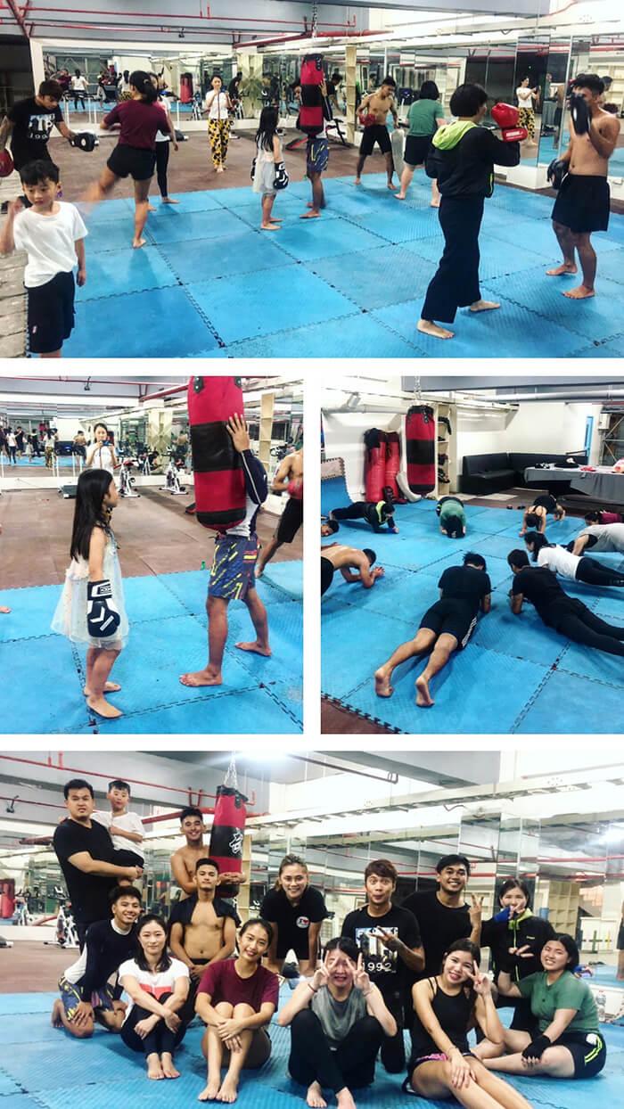 宿霧WYL拳擊課, 打拳, 練拳