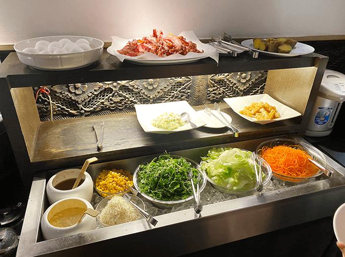 山樂溫泉早餐樣式