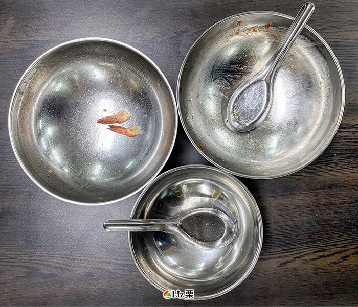 蘆洲美食割稻飯, 空碗
