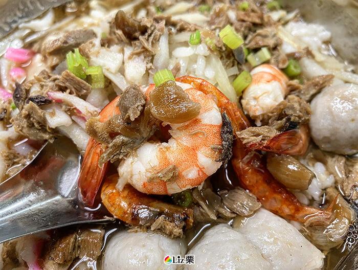 割稻飯, 海鮮割稻飯
