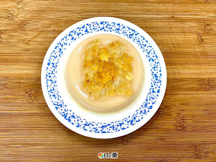 豆花凍, 桃膠
