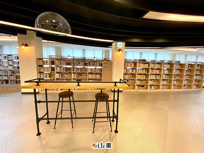 三重南區圖書館,工業風,室內設計