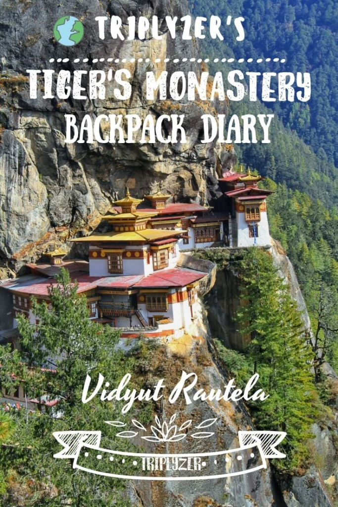 Tiger's Monastery Travel Guide Pinterest