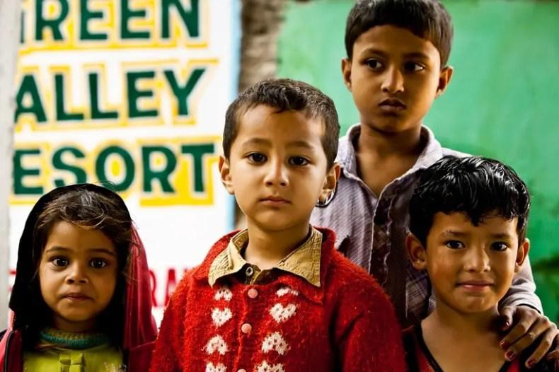 India, children
