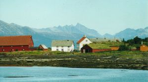 Kjerringøy tradingpost near Bodo, Norway