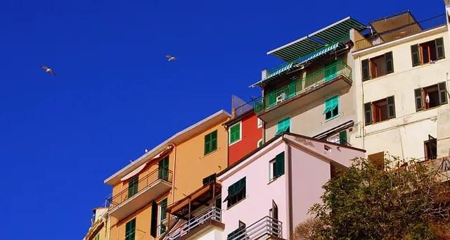 Manarola houses, Cinque Terre