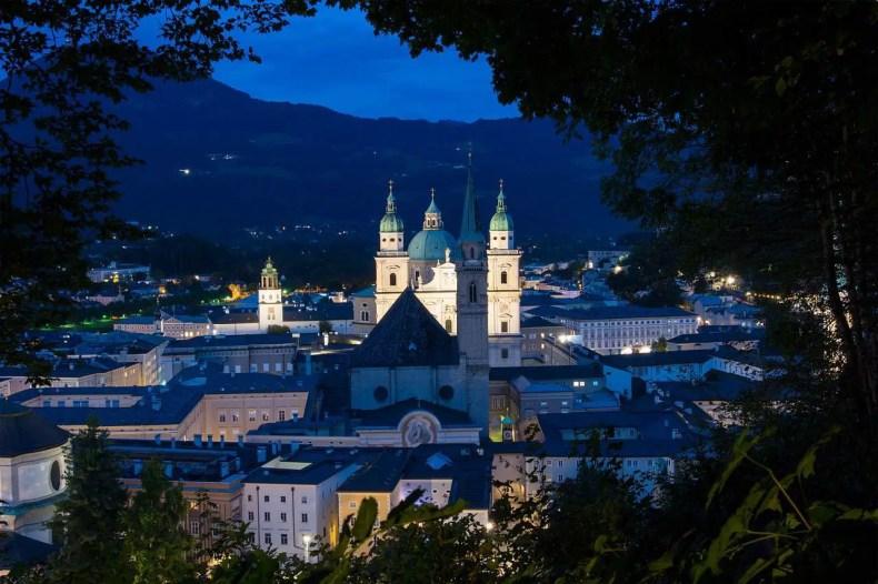 Monchberg, Old Town, Salzburg