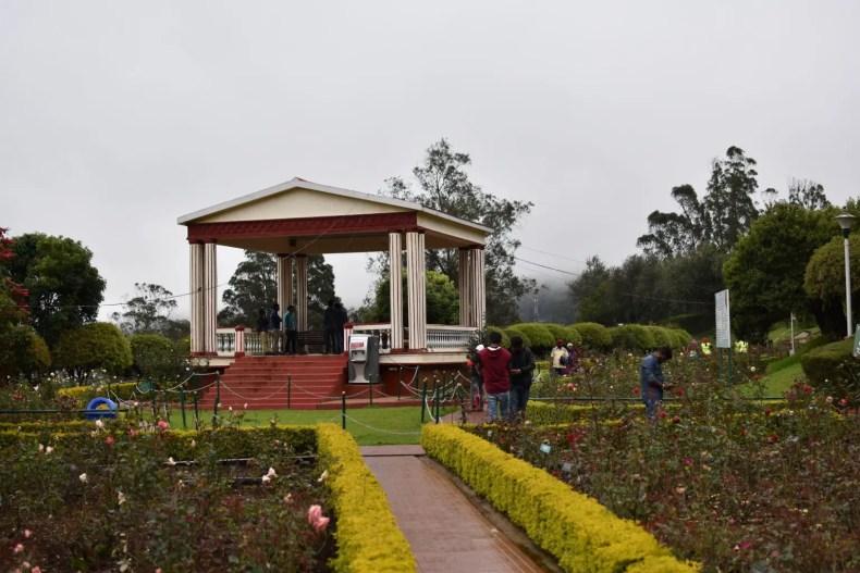 Rose Garden Ooty, Gazebo