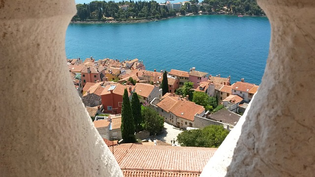 Rovinj bay view