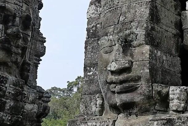 Smiling face, Bayon, Angkor wat, Siem Reap