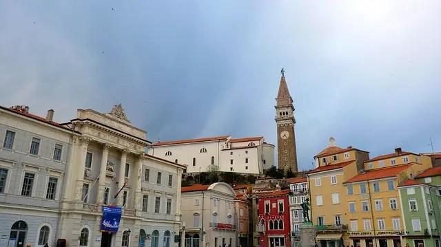 Tartini Square - Piran, Slovenia