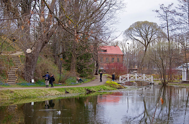 Tartu University Botanical Garden, Estonia