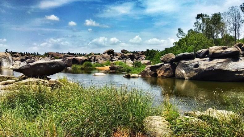 Tungbhadra River Bank, Hampi