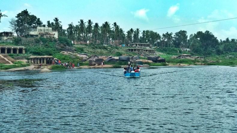 Tungbhadra River, Hampi