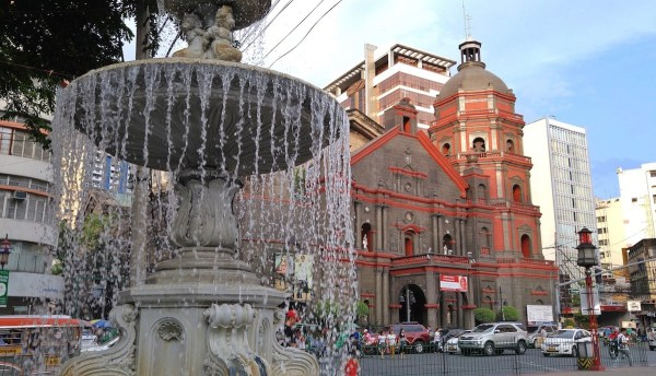 a view of Binondo church manila