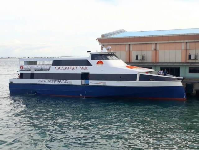 Bohol-Cebu OceanJet Ferry