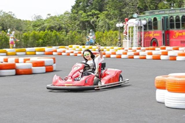Jungmun Kart Riding Jeju