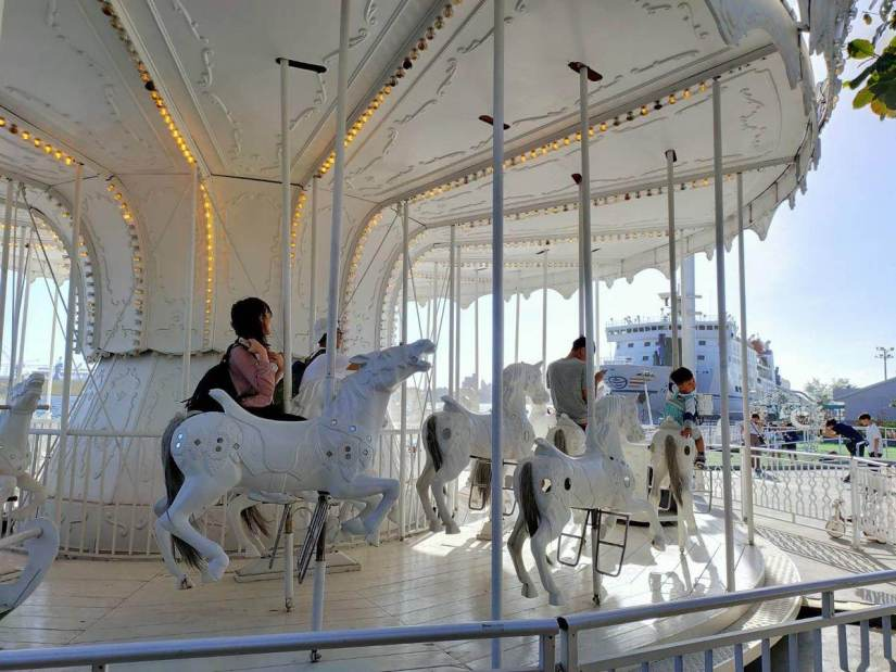 White Carousel in Kaohsiung