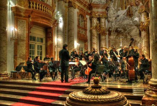"Mozart's ""Requiem"" Concert at St. Charles Church in Vienna"
