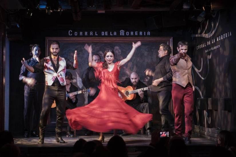 Flamenco show at Corral de la Moreria in Madrid