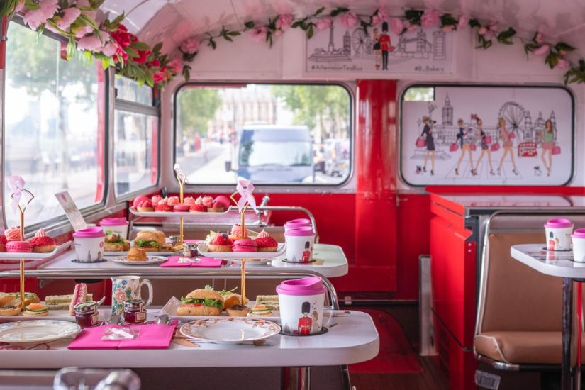 Afternoon Tea Vintage Bus in Dublin