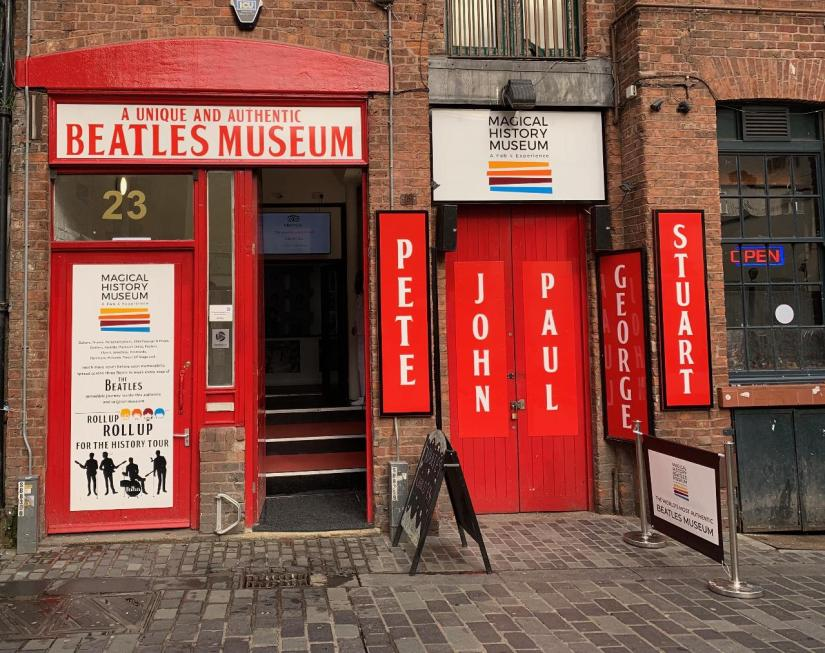 exterior of the Magical Beatles Museum