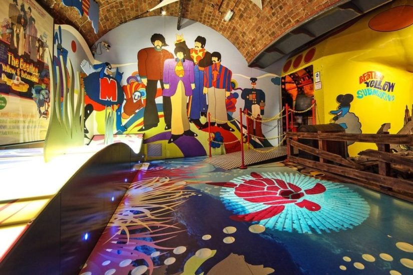 Beatles In India exhibition at The Beatles Story