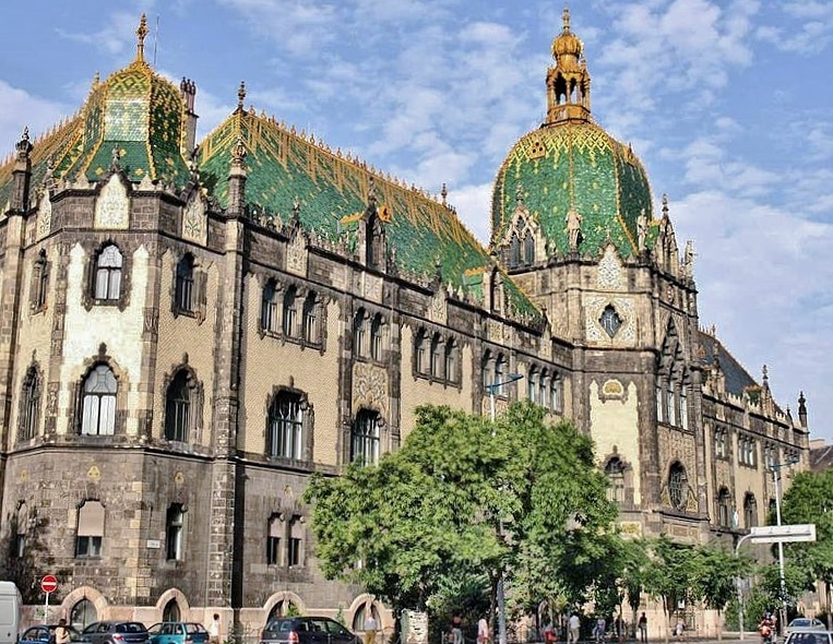 Museum structed by Art Nouveau