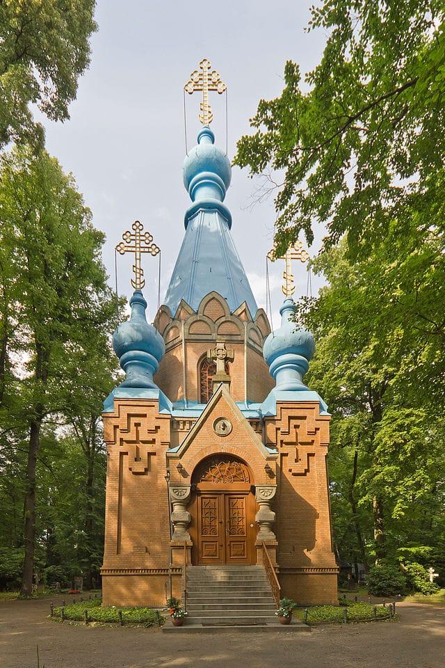 Russian Orthodox Cemetery in Berlin