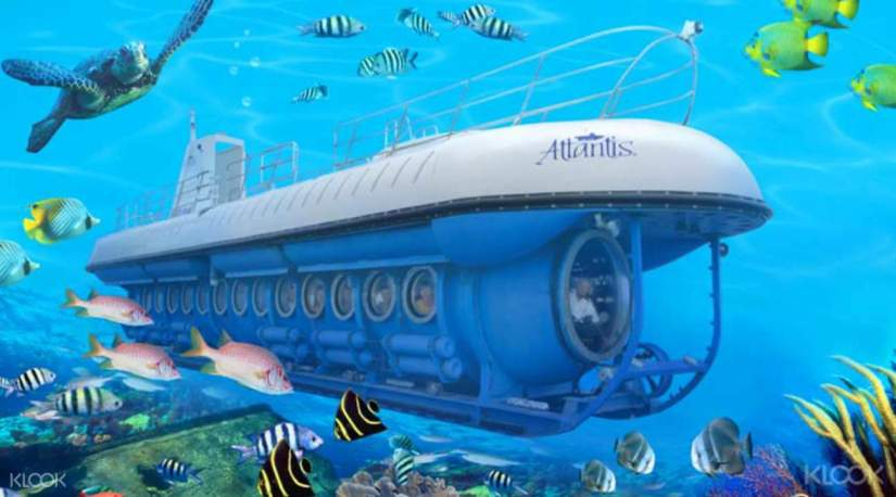 Submarine Adventure in mauritius