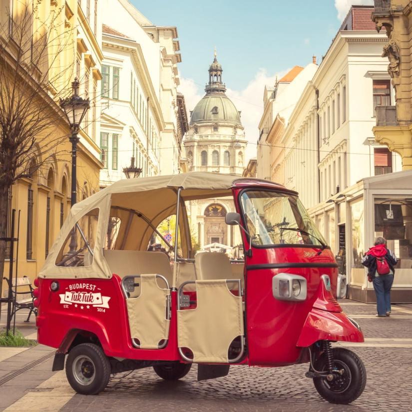 tuktuk in budapest