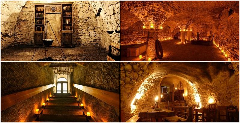 medieval underground Prague