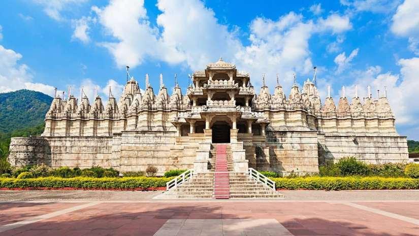Jain Temple in Malabar Hill