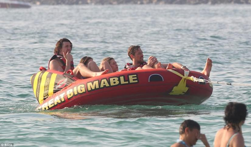 people enjoy tubing experience in Miami