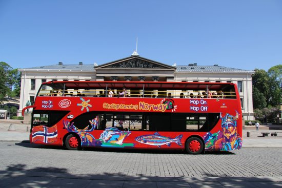Oslo City Sightseeing Hop-On Hop-Off Bus
