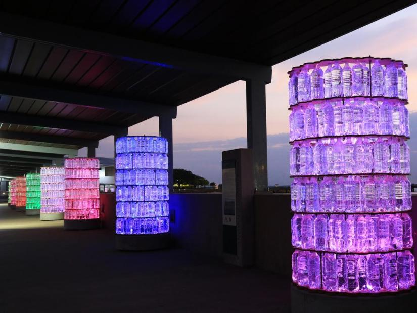 Bruce Munro's Tropical Light exhibition lights up Darwin