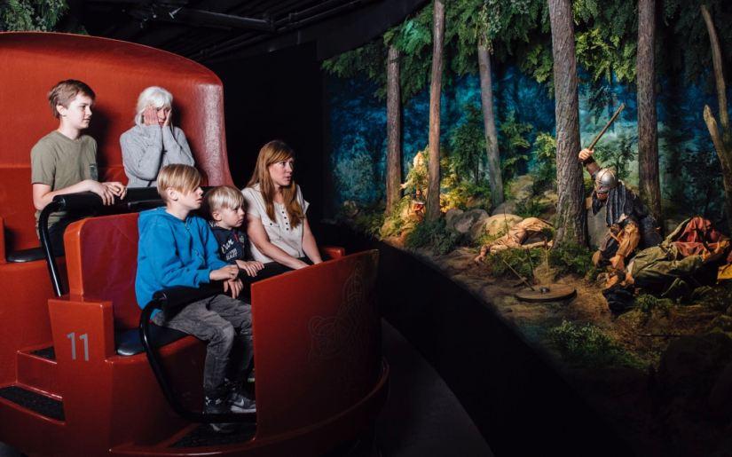 experience in Viking Museum Vikingaliv