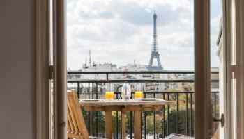 hotels balcony in paris