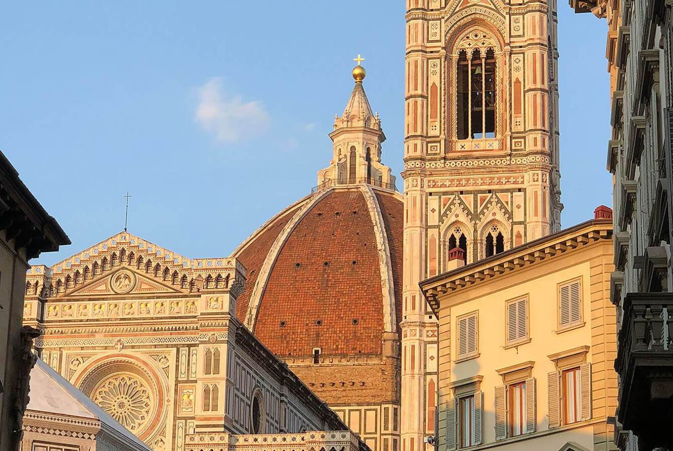 The dome of Cathedral of Santa Maria del Fiore