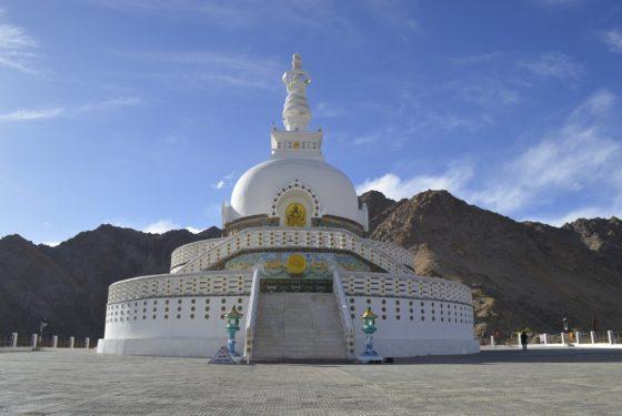 India Leh, Shanti Stupa