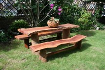 Rustic Outdoor Furniture Bench