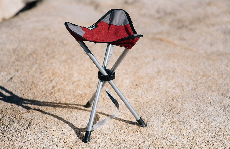 tripod stool for rock climbers