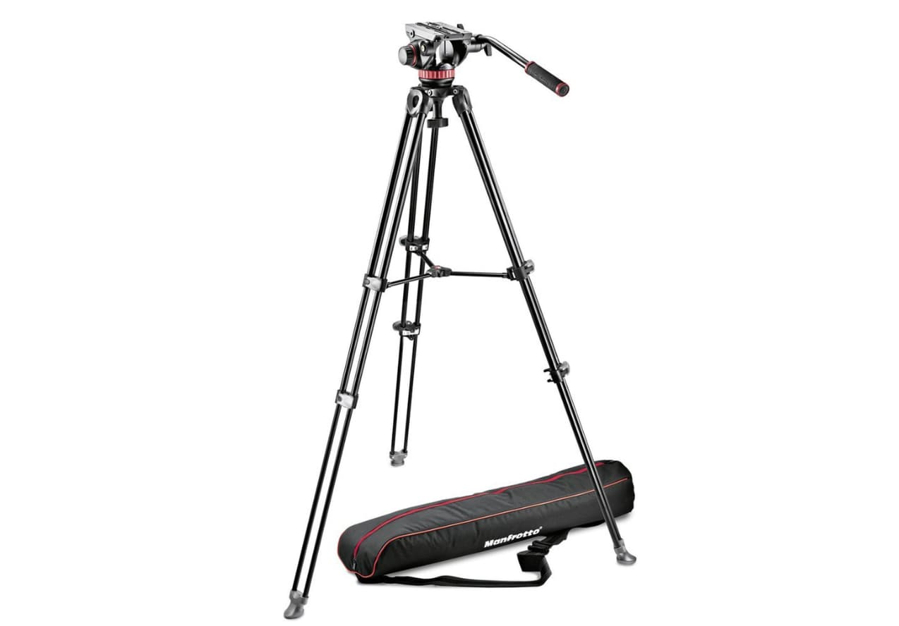 Manfrotto MVH502A Professional Fluid Video Tripod