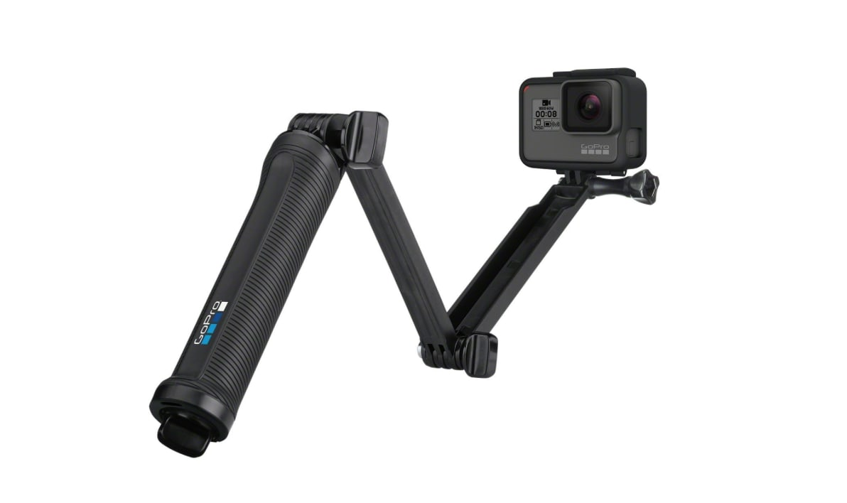 GoPro 3-Way Grip, Arm, Tripod (GoPro Official Mount) review