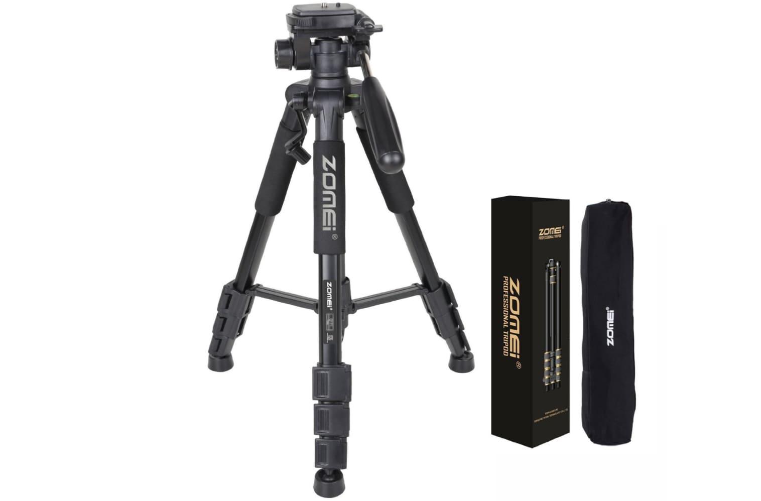 Zomei Z666 Professional Portable Tripod Review