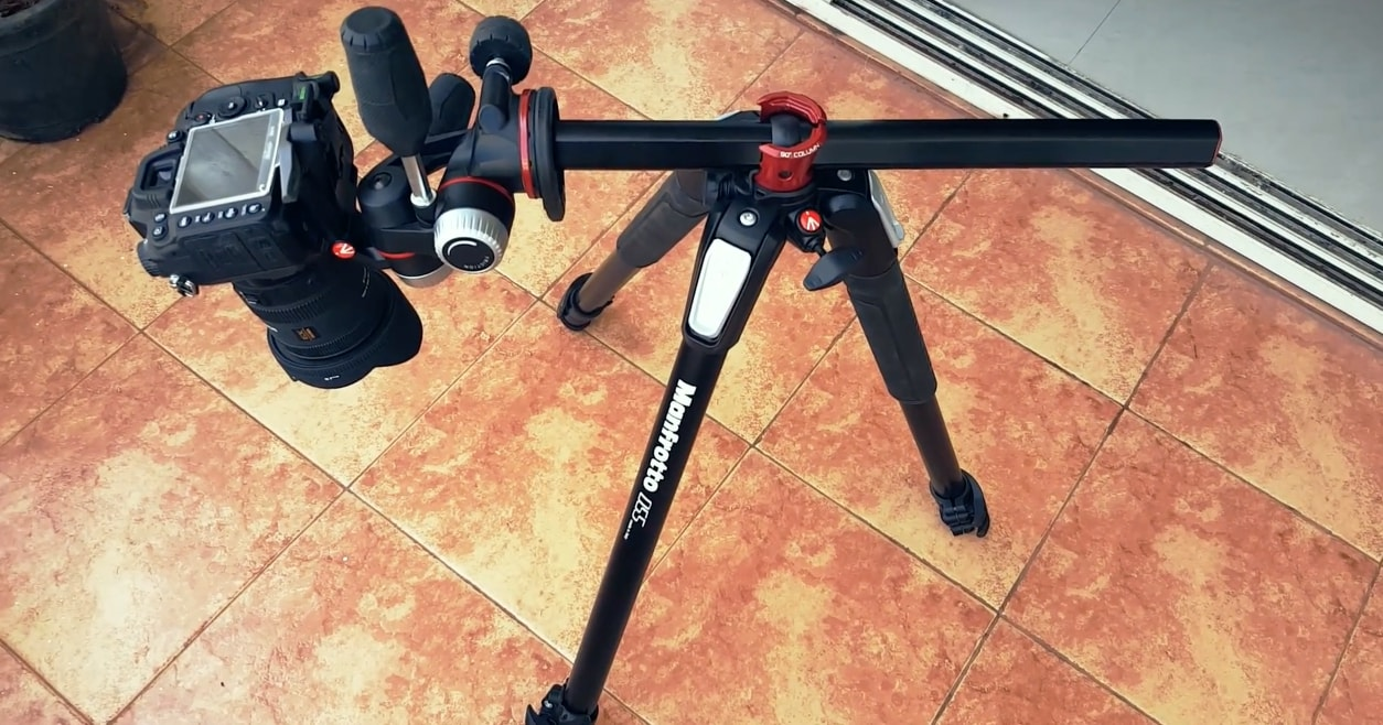 How I found the best tripods for overhead photography
