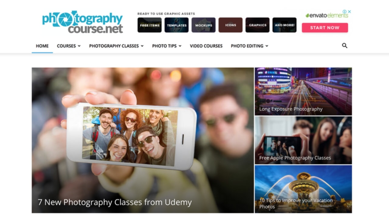 Top 17 Best Online Photography Courses Of 2019! [Free + Paid]
